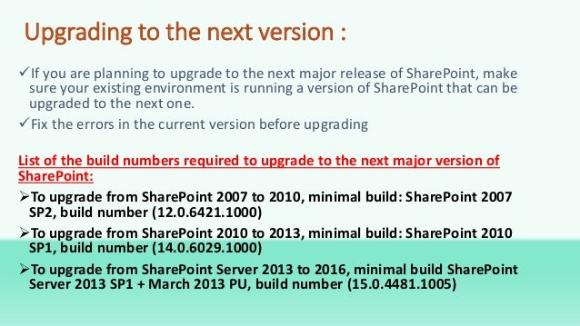 SharePoint 2016 Overview
