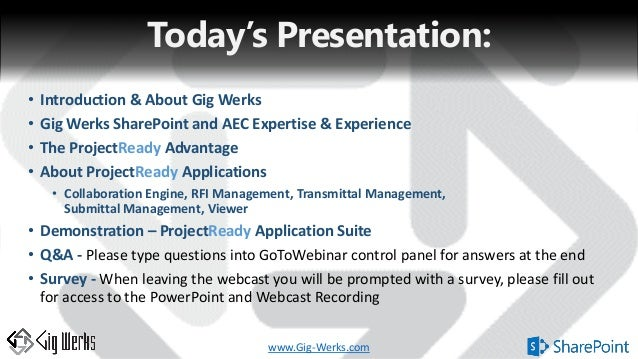 Aec Sharepoint Office  And Projectready Application Suite