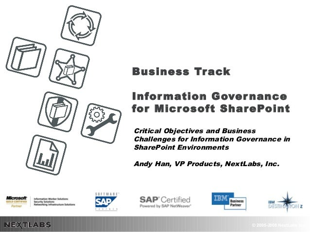 SharePoint Business Track Part 1 of 2