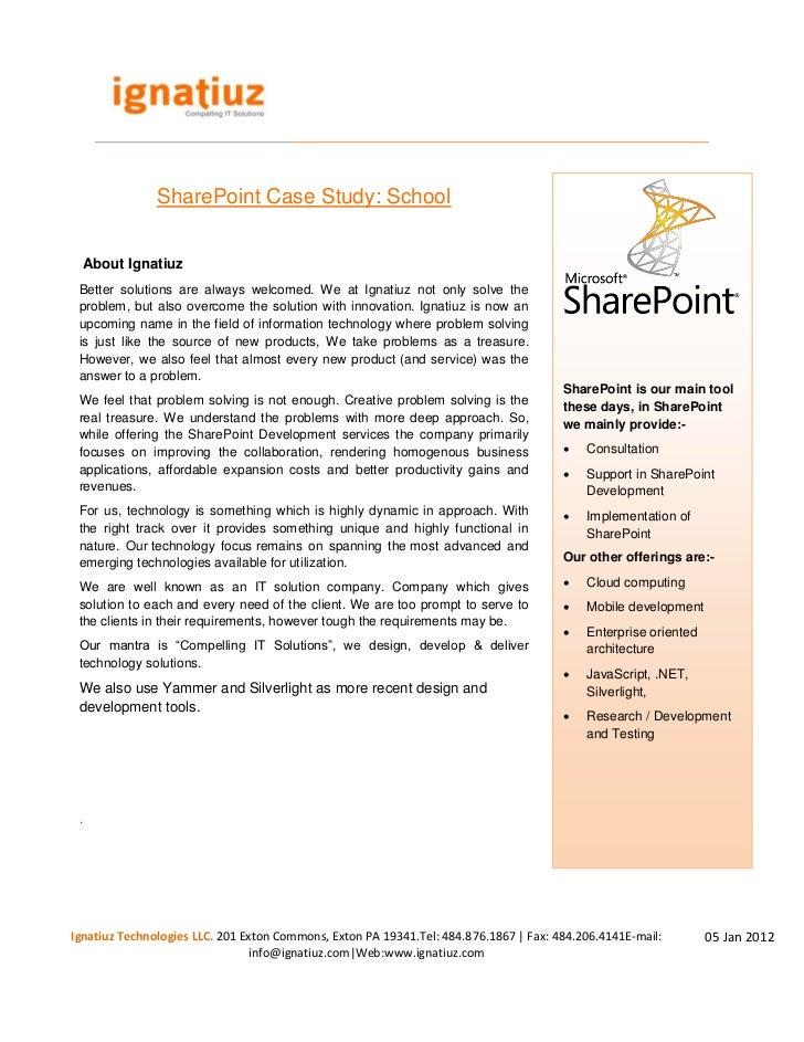 sharepoint workflow claim study