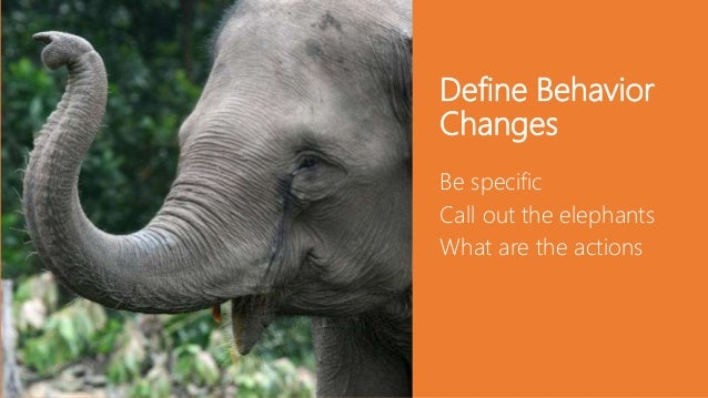 Inspire new behaviors Plan communication tactics Mobilize SharePoint champions Open feedback channels Awareness