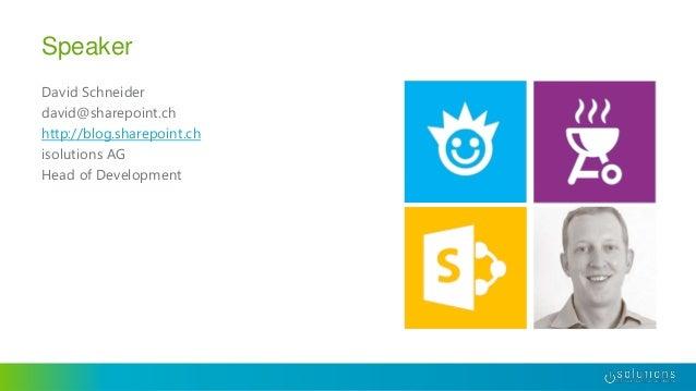 Pimp My SharePoint - Performanceprobleme vorbeugen, analysieren und beheben Slide 2