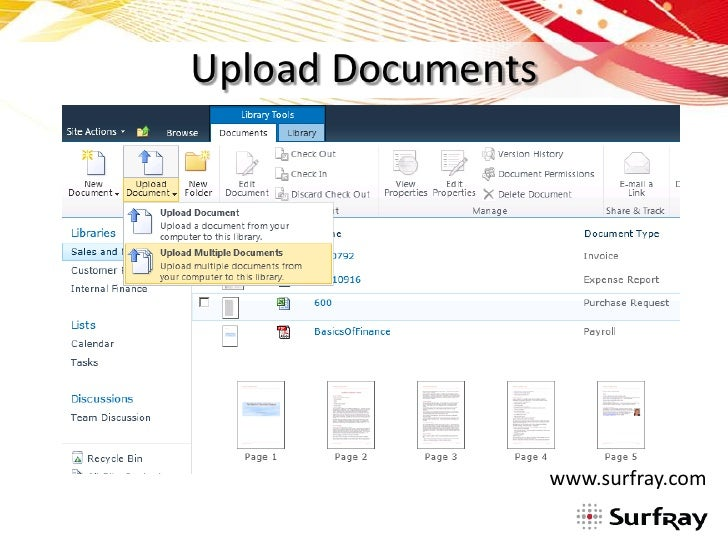 sharepoint document library organization With document library organization