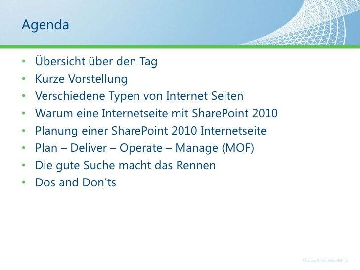 TechTalk - Share point for internet sites part 1 Slide 2