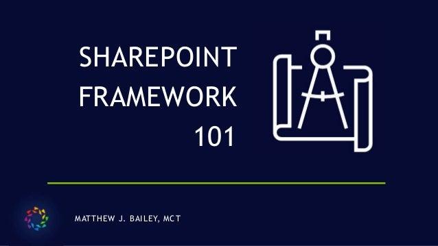 SharePoint Framework 101 (SPFx)
