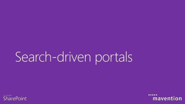 Traditional portals Portal http://sharepoint Intranet Jane Doe 2011