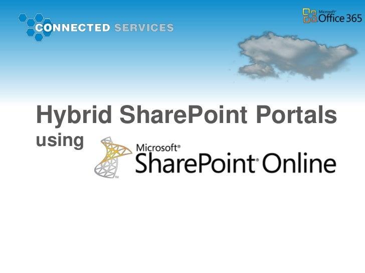 Hybrid SharePoint Portalsusing