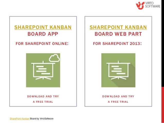 SharePoint Kanban Board for SharePoint 2013 and Office 365