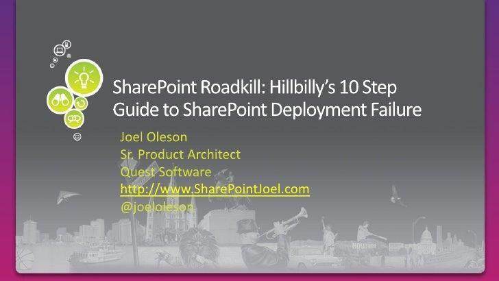 http://www.SharePointJoel.com