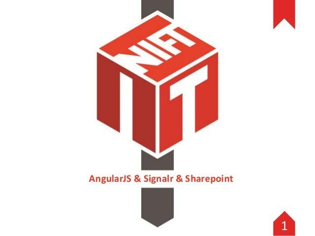AngularJS & Signalr & Sharepoint 1