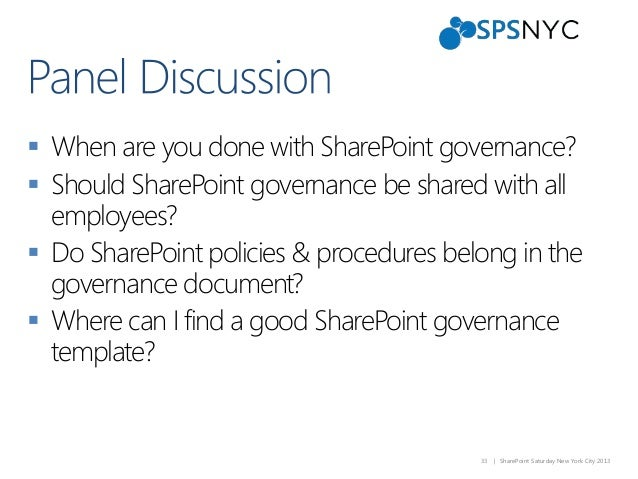 sharepoint saturday new york 2013 governance experts panel. Black Bedroom Furniture Sets. Home Design Ideas