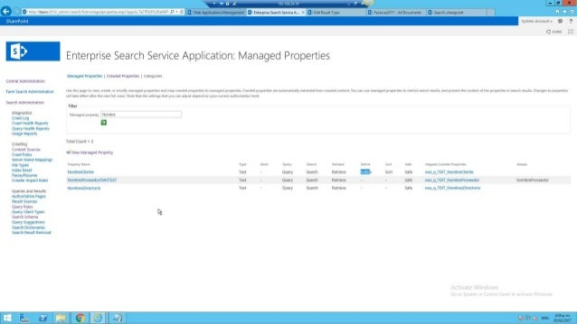 Sharepoint Search 2013 Back to Front