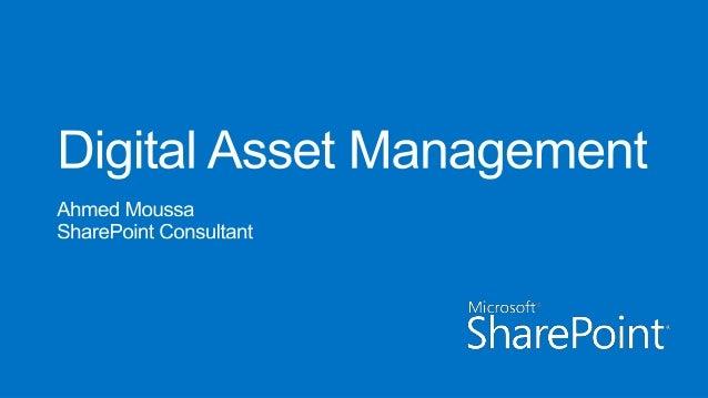 Plan for Digital Assets in SharePoint Server 2013
