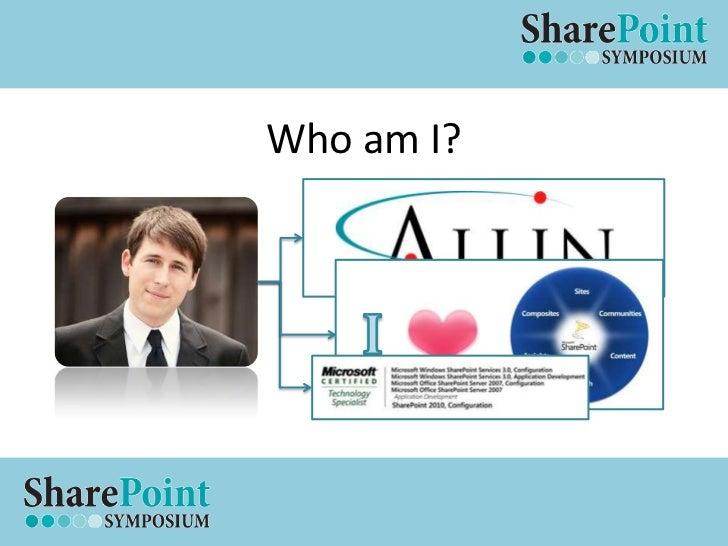 Who am I?<br />I<br />