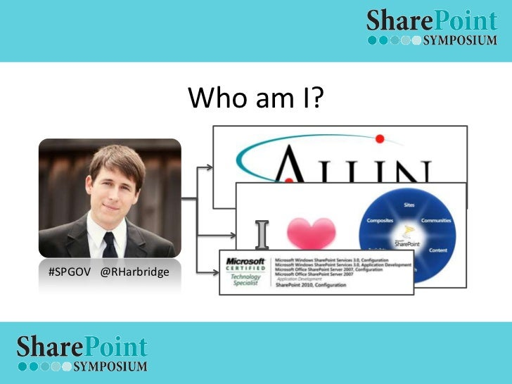 SharePoint Symposium - Governance Slide 2