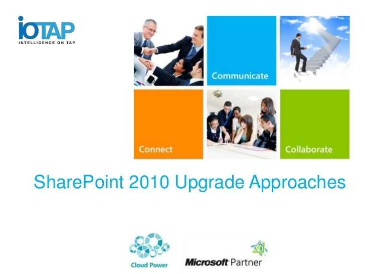 SharePoint 2010 Upgrade Approaches