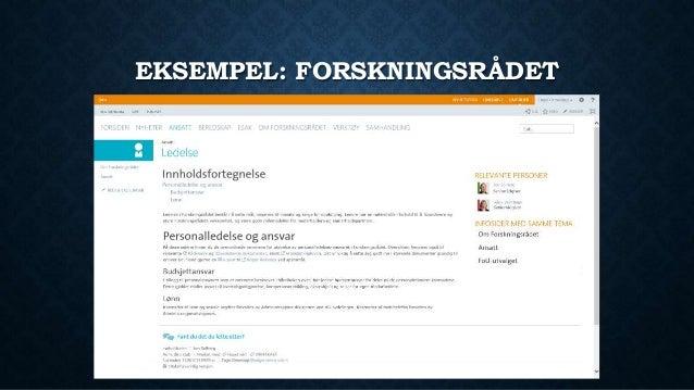 Forbedringer av SharePoint virksomhetswiki Slide 3