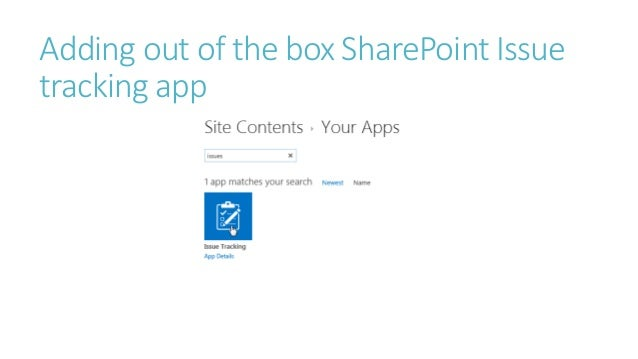 sharepoint issue tracking template sharepoint workflow project management