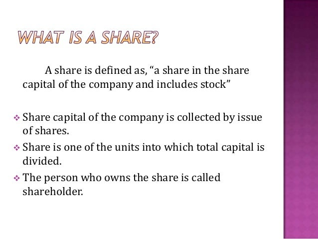 different types of shares pdf