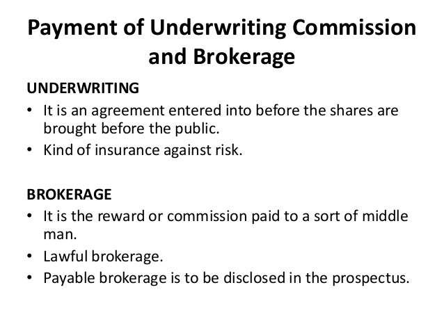 Underwriting Agreement Indemnity Agreement