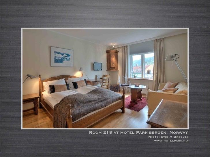 Room 218 at Hotel Park bergen, Norway                      Photo: Stig M Bredvei                         www.hotelpark.no