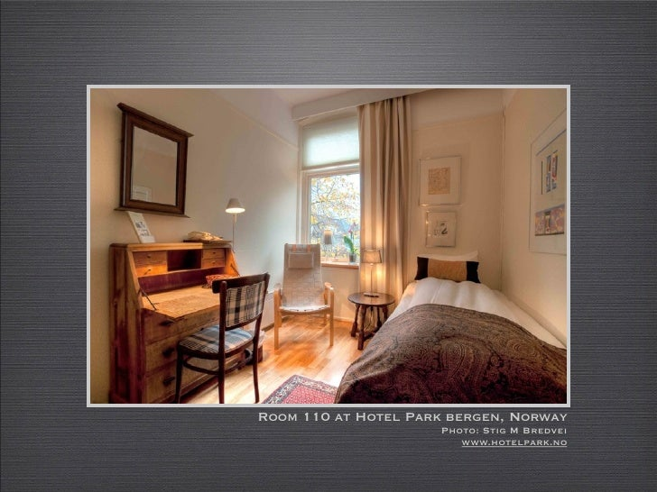 Room 110 at Hotel Park bergen, Norway                      Photo: Stig M Bredvei                         www.hotelpark.no