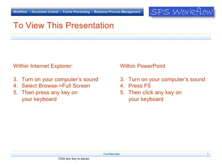 To View This Presentation <ul><li>Within Internet Explorer: </li></ul><ul><li>Turn on your computer's sound  </li></ul><ul...