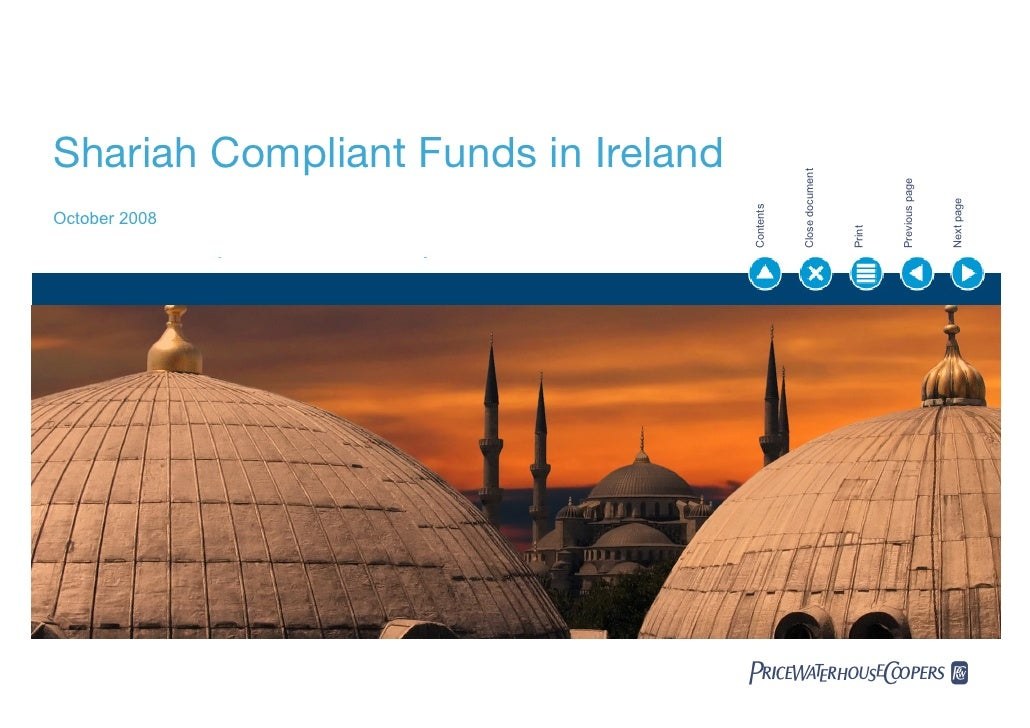 Shariah Compliant Funds in Ireland                                                     Close document                     ...