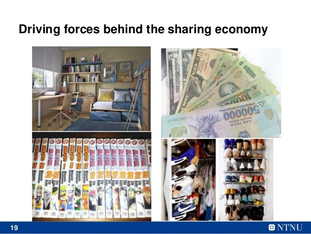 19 Driving forces behind the sharing economy