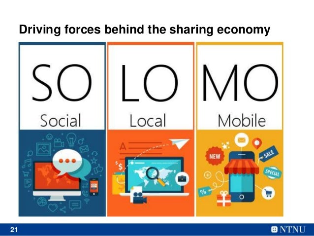 21 Driving forces behind the sharing economy