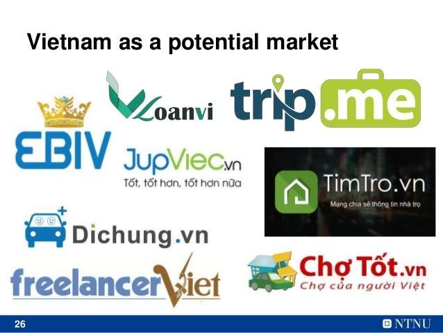 26 Vietnam as a potential market