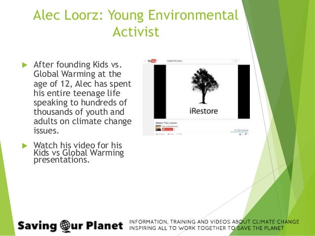 Tackling Climate Change - Introduction to Teen Activism
