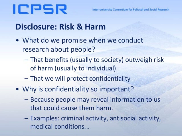 Sharing Confidential Data in ICPSR Slide 2