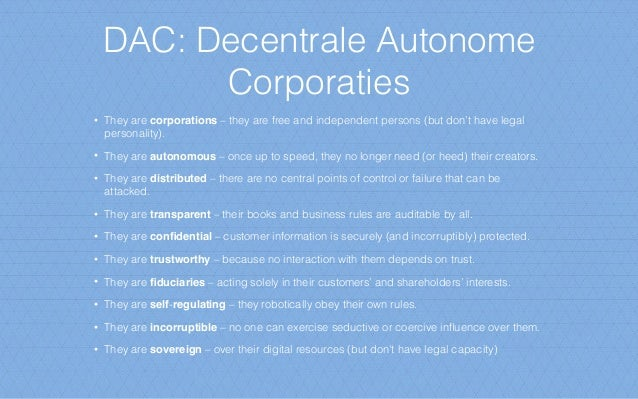 DAO: Architecture Principles 1. The Black Swan principle: non-predictive besluitvorming bij onzekerheid, upside van rando...