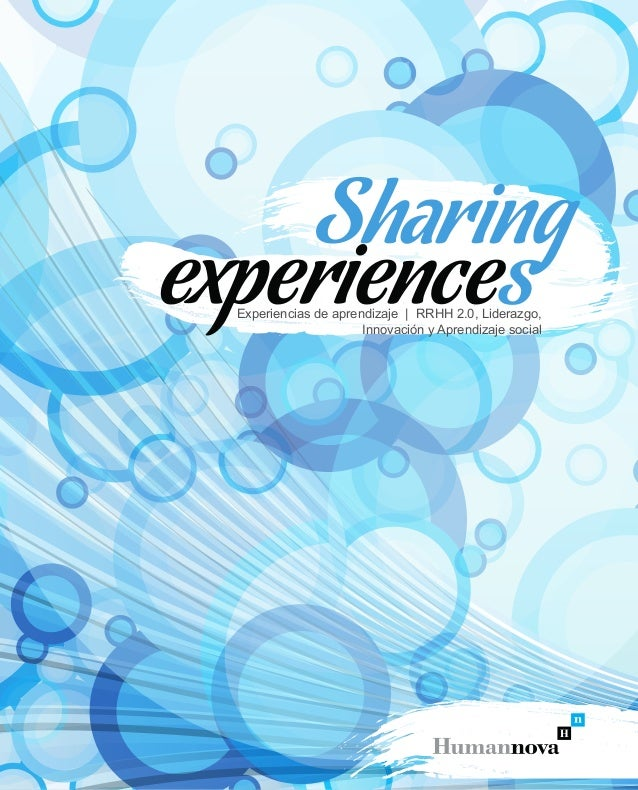 Experiencias de aprendizaje | RRHH 2.0, Liderazgo, Innovación y Aprendizaje social
