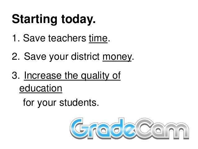 Sharing Grade Cam  Slide 2
