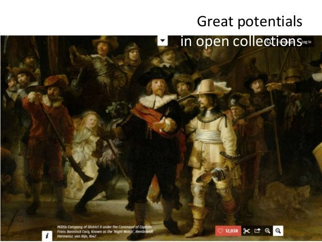 Great potentials in open collections