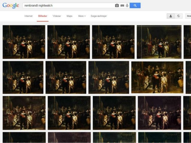 http://en.wikipedia.org/wiki/The_Night_Watch_(painting) Rijksmuseum's quality images are preferred online