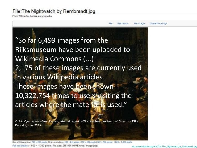 http://en.wikipedia.org/wiki/File:The_Nightwatch_by_Rembrandt.jpg Flushing out poor copies