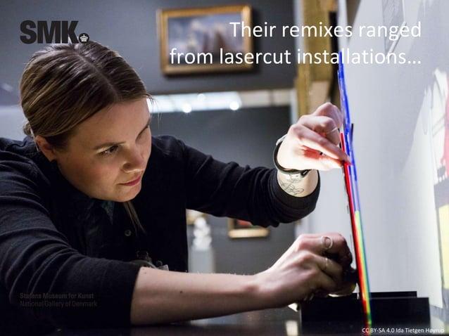 CC BY-SA 4.0 Ida Tietgen Høyrup Artists talks - communicating remix culture