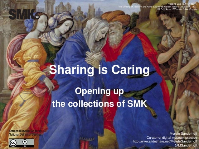 Sharing is Caring Opening up the collections of SMK Filippino Lippi (c. 1457-1504), The Meeting of Joachim and Anne outsid...