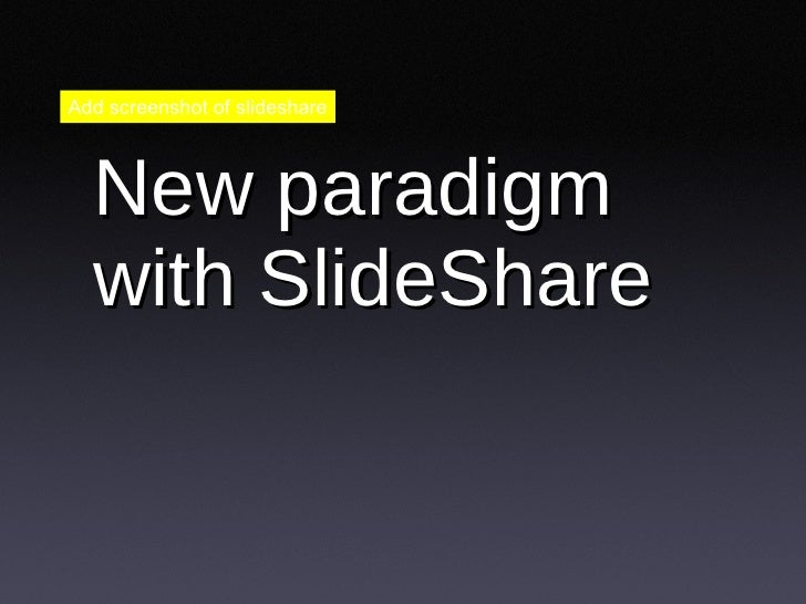 Sharing is the new lead gen - Talk at Web 2.0 expo Slide 3