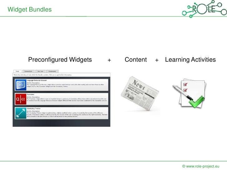 Widget Bundles      Preconfigured Widgets   +   Content   +   Learning Activities                                         ...