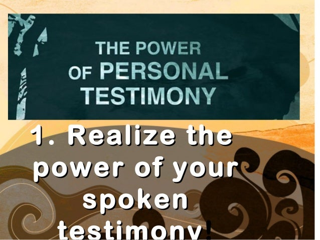 Sharing your faith story Slide 3