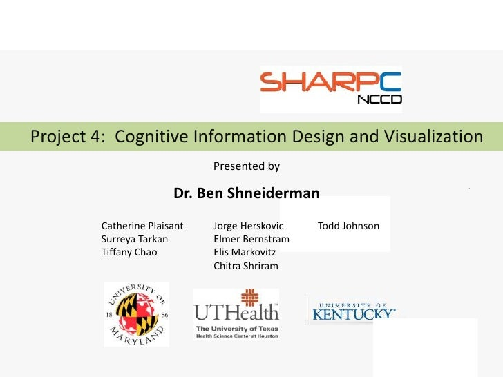 Project 4: Cognitive Information Design and Visualization                             Presented by                       D...