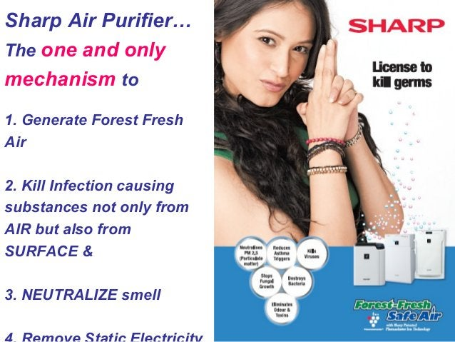 How is Sharp Air Purifier better than competition? Claims Reality Four stages of Filtration – traps pollutants Pre ► Activ...
