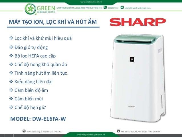 MÁY TẠO ION, LỌC KHÍ VÀ HÚT ẨM MODEL: DW-E16FA-W  Lọc khí và khử mùi hiệu quả  Đảo gió tự động  Bộ lọc HEPA cao cấp  C...