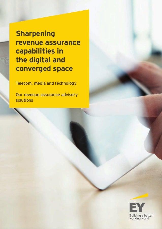Sharpening revenue assurance_july 2015