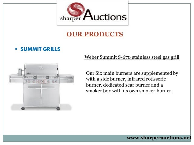 Genesis Grills And Weber Summit Sharperauctions