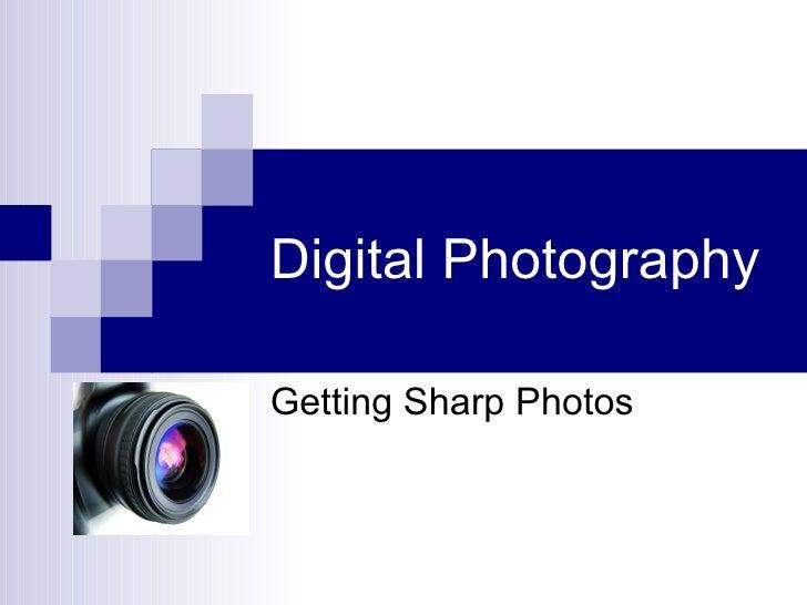 Sharp Photos